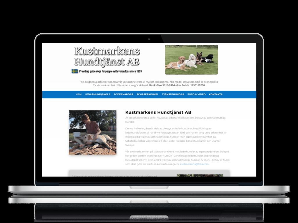 Kustmarkens hundtjänst